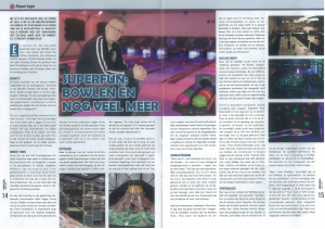 Superfun - Artikel Bowlen.nl - April 2013